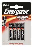Batterie, AAA (mikrotužková), 4 ks, ENERGIZER Alkaline Power ,balení 4 ks