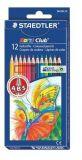 Barevné pastelky Noris Club, 12 barev, šestihranné, STAEDTLER