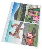 Euroobaly na fotografie, čirá, A4, 80 mikronů, ESSELTE ,balení 10 ks