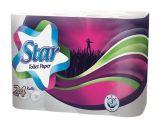 Toaletní papír, 3-vrstvý, 24 rolí, Star ,balení 24 ks