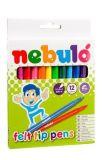 Fixy sada, 1mm, 12 různých barev, NEBULO