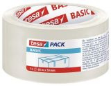 Balící páska Basic 58570, transparentní, 50 mm x 66 m, TESA