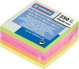 Samolepicí bloček, 50x50 mm, 5x50 lístků, DONAU, neonové barvy ,balení 250 ks