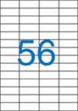 Etiketa, ILC, 52,5x21,2 mm, čtyřřadé, 5600 ks/bal., VICTORIA ,balení 100 ks