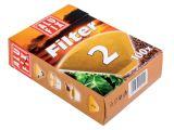 Filtry na kávu Alufix - č. 2 / 100 ks