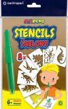 Šablony pro foukací fixy Centropen 9996 - G / dinosauři
