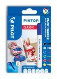Pilot Pintor 4077 EF popisovače Classic akryl sada 6ks