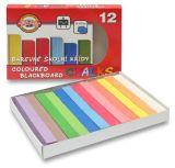 Křídy školní - sada 12 barev