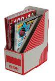 Stojan na spisy Emba TRIOBOX - červená