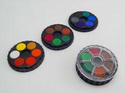 Barvy 171505/18  vodové kulaté