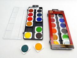 barvy vodové 175505 30/12 umělecké transparentní