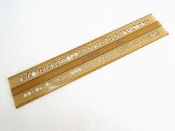 Šablona 748008 písmenková   7mm