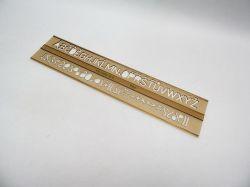 Šablona 748012 písmenková  14mm