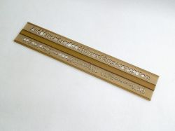 Šablona 748056 písmenková   7mm