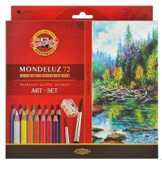 Akvarelové pastelky Koh-i-noor Mondeluz 3714  72 ks
