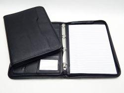 Portfolio černé 4-krouž. /7715-A4
