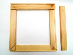 Blindrám 27cm dřevěný