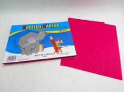 Karton kreslící A4/ 50 ks RŮŽOVÝ 180 g