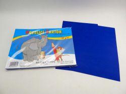 Karton kreslící A4/ 50 ks TM. MODRÝ 180 g/ bal