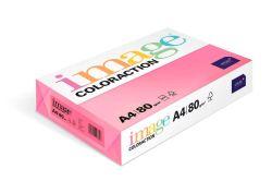 Papír kancelářský A4/100ks reflexní růžová 80g, 393513