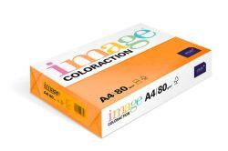 Papír kancelářský A4/100ks reflexní oranžová 80g, 393515