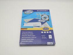 Etikety 70x42,3mm, bílé ELA013