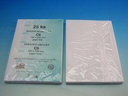 Obálka C5/25 bílá KRPA obyčejná  1062799