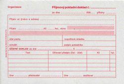 Doklad příjmový pokl. i pro PÚ A6, 50l /ET030/