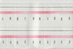 Kniha bonová 1-1000 čísel  A4 /ET400/