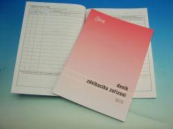 Deník zdvihacího zař. A4 /OP1227/