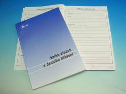 Kniha služeb a denního hlášení /OP1242/