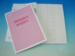 Kniha bonová A4 /OP1264/