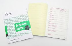Kniha domovní pro cizince NCR, propis., /OP1289/
