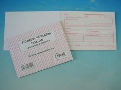 Doklad příjmový A6 jednod. NCR, propis. /OP1314/
