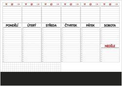 Plánovač stolní A2 týd.mapa /OS100/