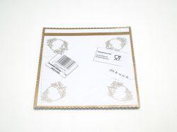 Košíček svatební papírový 25ks