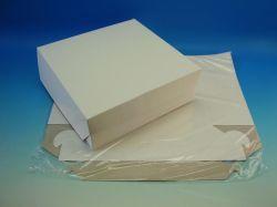 Krabice dortová 280x280x100mm, 3ks