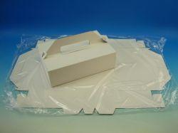 Krabice zákusková 270x180x80mm, 3ks