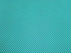 Fotokarton s puntíky 300g 50x70cm bílozelený 5905