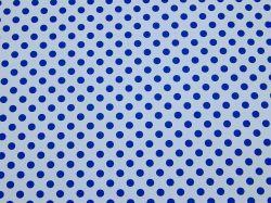 Fotokarton s puntíky 300g 50x70cm modrobílý 5930
