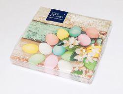 Ubrousky SDL120610 Vajíčka velikonoční pastelová 33x33
