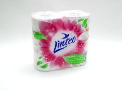 Papír toaletní LINTEO SATIN bílý 200ú.