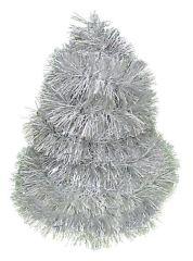 Řetěz stříbrno - bíly 2m