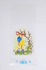 Sáček velikonoční 12x 30cm Jarní kvítí