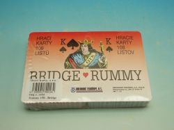Karty 1601 Rummy 150 - Bridge