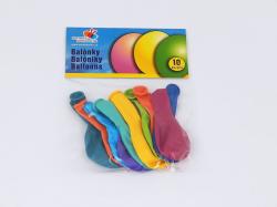 Balónek naf. pastel., pr. 26cm,10ks /PG90/