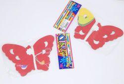 Girlanda papírová Motýlci 400x16cm /9071/