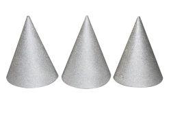 Kloboučky stříbrné 6ks Párty /818434/