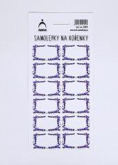 Samolepky na kořenky LEVANDULOVÉ 0401