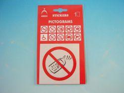 Samolepka Zákaz používání mobilního telefonu